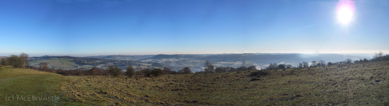 Painswick from Edge Common
